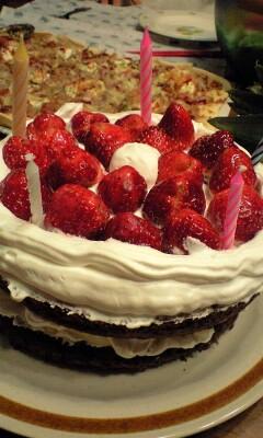 誕生日party